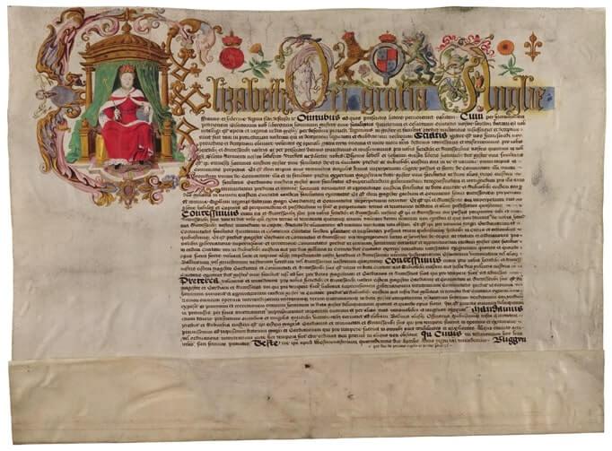 Royal Charter, 1571