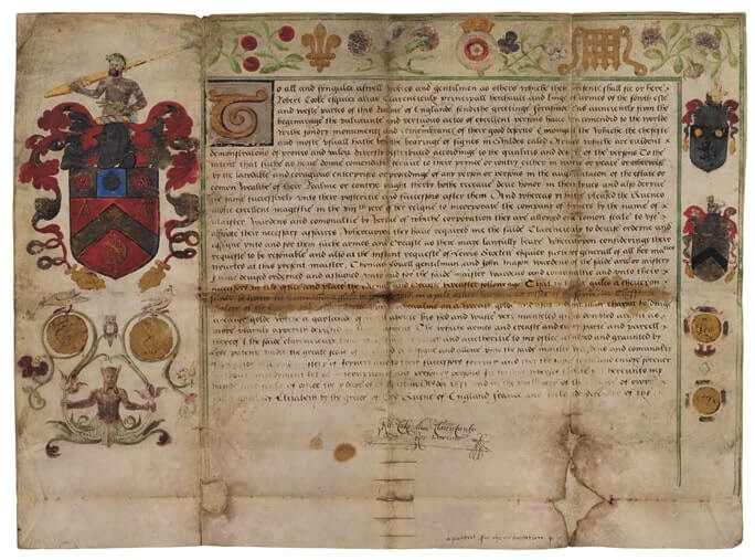 Grant of Arms, 1571